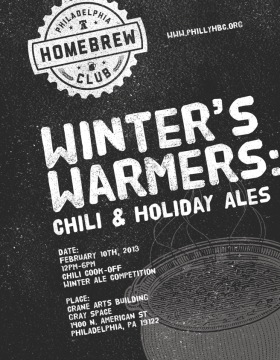 Winter's Warmers Flyer